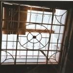 Construcció de estructura metalica de la claraboia 1