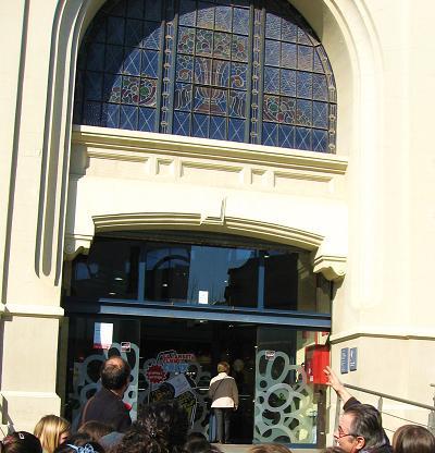 Visita al mercat central de Sabadell