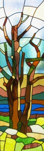 Tree - Finished stained glass work